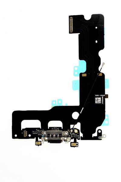 iPhone 7 Plus Ladebuchse schwarz Dock Flex Connector USB Antenne Anschluß Mikro
